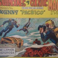 Tebeos: JOHNNY PACIFICO NARRACIONES Y CUENTOS MAGA ORIGINAL Nº 3. Lote 191303956