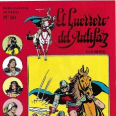 Tebeos: GUERRERO DEL ANTIFAZ Nº 30 ULTIMO, EDIVAL 1973 ORIGINAL- LEER Y VER FOTOS. Lote 191470145