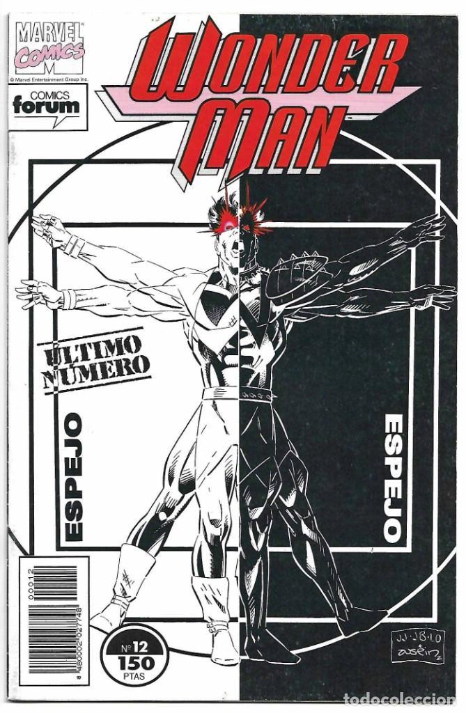 WONDER MAN FORUM 1992 ULTIMO, - LEER Y VER FOTOS (Tebeos y Comics - Maga - Apache)