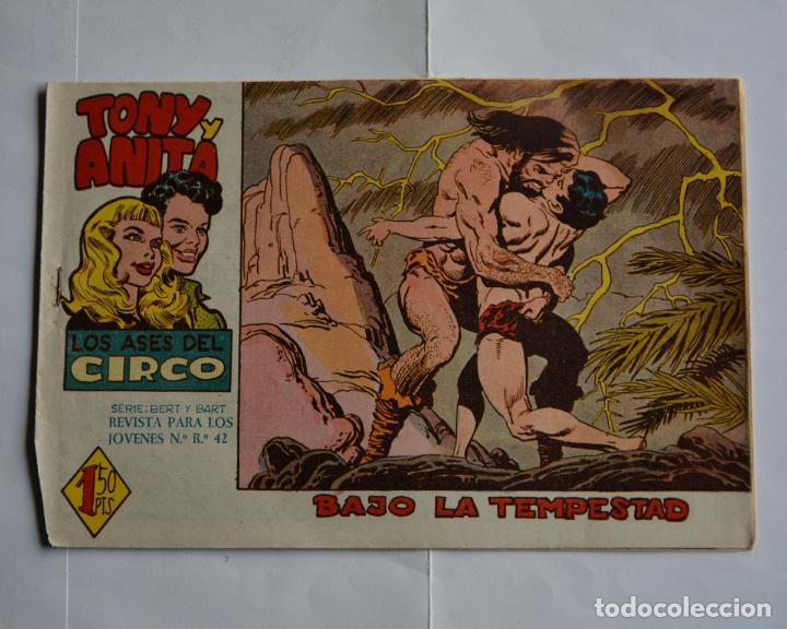 TONY Y ANITA, LOS ASES DEL CIRCO, Nº 20. ORIGINAL DE MAGA. LITERACOMIC. (Tebeos y Comics - Maga - Tony y Anita)