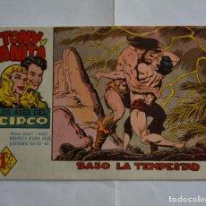 Tebeos: TONY Y ANITA, LOS ASES DEL CIRCO, Nº 20. ORIGINAL DE MAGA. LITERACOMIC.. Lote 191483172
