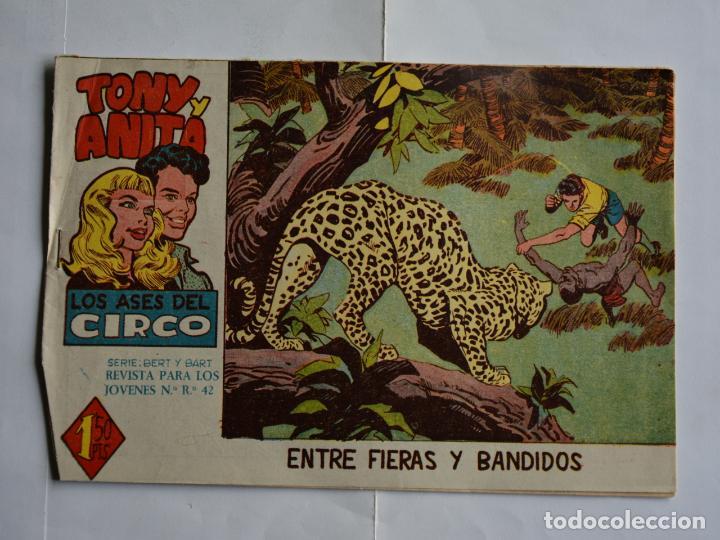 TONY Y ANITA, LOS ASES DEL CIRCO, Nº 21. ORIGINAL DE MAGA. LITERACOMIC. (Tebeos y Comics - Maga - Tony y Anita)