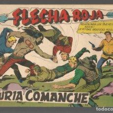 Tebeos: FLECHA ROJA. Nº 71. ORIGINAL MAGA, 1962.(P/C58). Lote 191641508