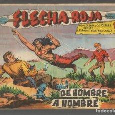 Tebeos: FLECHA ROJA. Nº 72. ORIGINAL MAGA, 1962.(P/C58). Lote 191641771