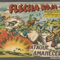 Tebeos: FLECHA ROJA. Nº 75. ORIGINAL MAGA, 1962.(P/C58). Lote 191641921