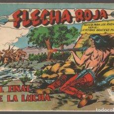Tebeos: FLECHA ROJA. Nº 76. ORIGINAL MAGA, 1962.(P/C58). Lote 191642008