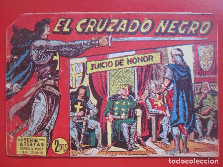 Tebeos: 4 TEBEOS EL CRUZADO NEGRO, Nº 8-13-21-26 ED. MAGA - Foto 3 - 191796781