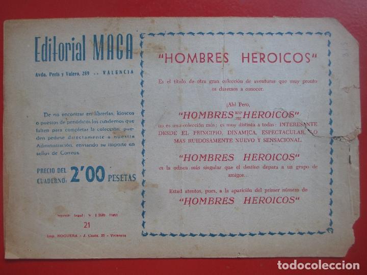 Tebeos: 4 TEBEOS EL CRUZADO NEGRO, Nº 8-13-21-26 ED. MAGA - Foto 4 - 191796781