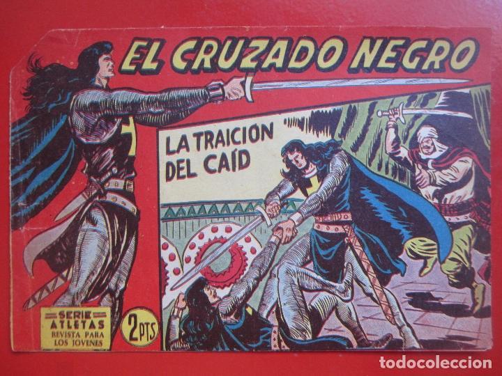 Tebeos: 4 TEBEOS EL CRUZADO NEGRO, Nº 8-13-21-26 ED. MAGA - Foto 5 - 191796781