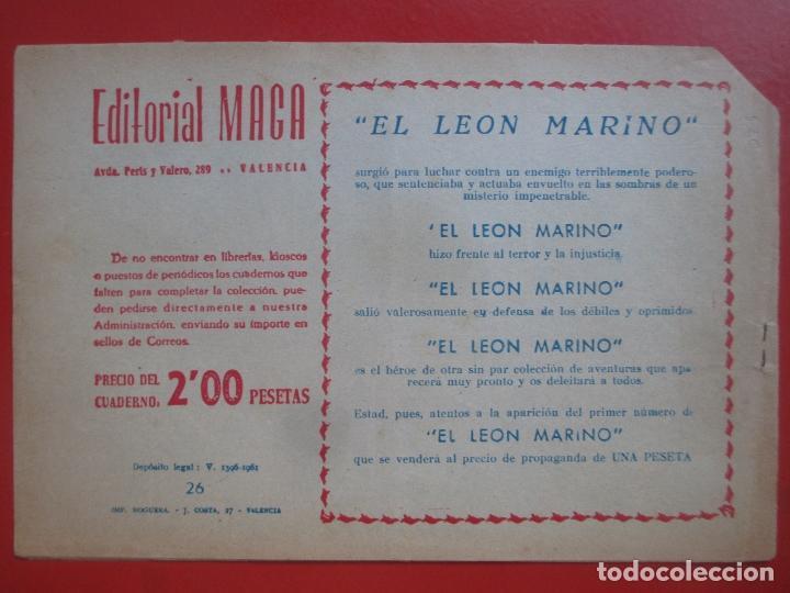 Tebeos: 4 TEBEOS EL CRUZADO NEGRO, Nº 8-13-21-26 ED. MAGA - Foto 6 - 191796781