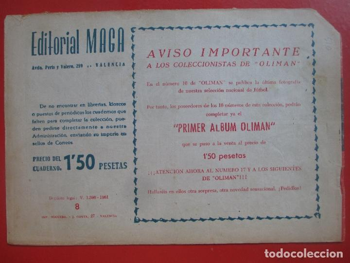 Tebeos: 4 TEBEOS EL CRUZADO NEGRO, Nº 8-13-21-26 ED. MAGA - Foto 8 - 191796781