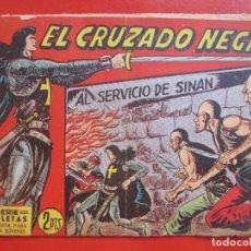Tebeos: 4 TEBEOS EL CRUZADO NEGRO, Nº 8-13-21-26 ED. MAGA. Lote 191796781