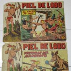 Tebeos: PIEL DE LOBO Nº 67-77 ED. MAGA ORIGINAL. Lote 26277448