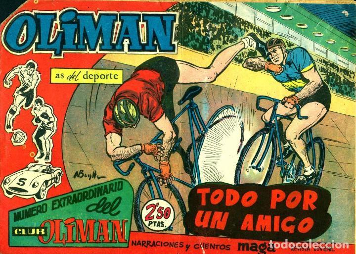 NUMERO EXTRAORDINARIO DEL CLUB OLIMAN-10 (MAGA, 1963) DE A. BUYLLA (Tebeos y Comics - Maga - Oliman)