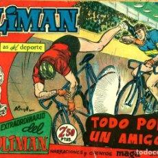 Tebeos: NUMERO EXTRAORDINARIO DEL CLUB OLIMAN-10 (MAGA, 1963) DE A. BUYLLA. Lote 191891051