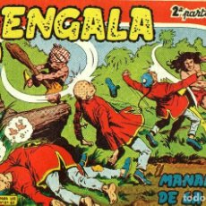 Tebeos: BENGALA SEGUNDA PARTE (MAGA, 1960) COMPLETA: 45 NÚMEROS. PORTADAS DE JOSÉ ORTIZ. Lote 191934215