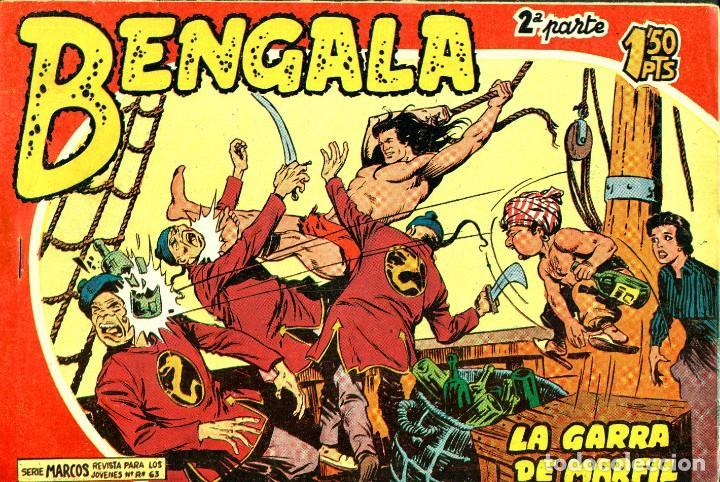 Tebeos: BENGALA SEGUNDA PARTE (MAGA, 1960) COMPLETA: 45 NÚMEROS. PORTADAS DE JOSÉ ORTIZ - Foto 3 - 191934215