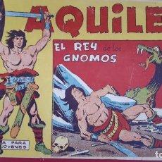 Tebeos: AQUILES Nº 4 EL REY DE LOS GNOMOS MAGA ORIGINAL , CT2. Lote 192071606