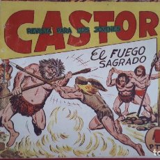 Tebeos: CASTOR Nº 3 EL FUEGO SAGRADO MAGA ORIGINAL , CT2. Lote 192071695