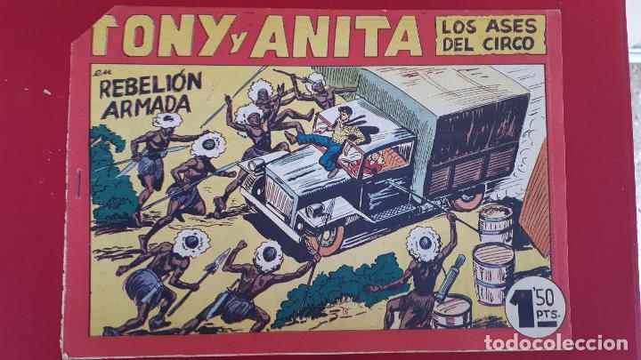 TONY Y ANITA LOS ASES DEL CIRCO Nº 146 ORIGINAL , CT2 (Tebeos y Comics - Maga - Tony y Anita)