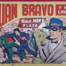 Tebeos: JUAN BRAVO Nº 28 UN HORA DE PLAZO MAGA ORIGINAL , CT2. Lote 192075087