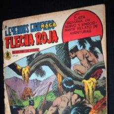 Tebeos: FLECHA ROJA Nº 62 - LEYENDAS GRÁFICAS (EDITORIAL MAGA 1962). Lote 192134425