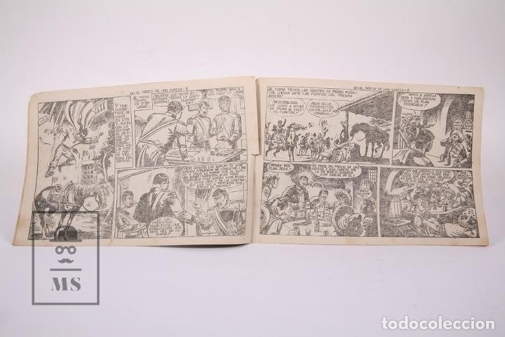 Tebeos: Antiguo Cómic - Don Z / El Precio de una Cabeza Nº 16 - Ediciones Maga - Año 1959 - Foto 3 - 192153020