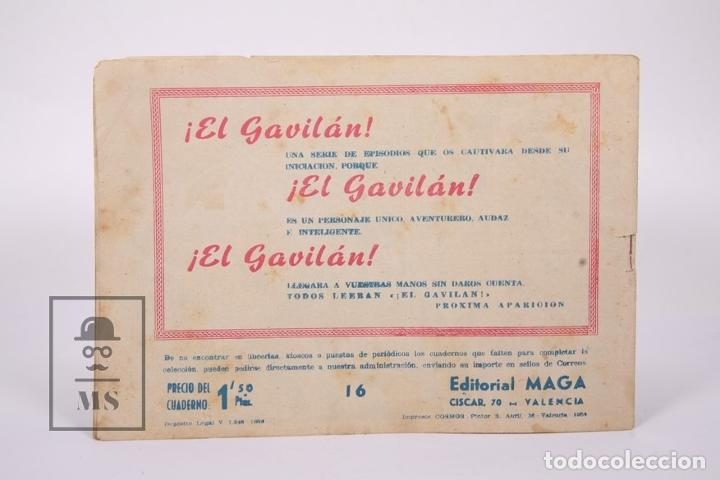 Tebeos: Antiguo Cómic - Don Z / El Precio de una Cabeza Nº 16 - Ediciones Maga - Año 1959 - Foto 4 - 192153020