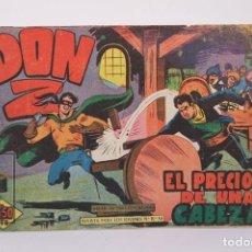Tebeos: ANTIGUO CÓMIC - DON Z / EL PRECIO DE UNA CABEZA Nº 16 - EDICIONES MAGA - AÑO 1959. Lote 192153020
