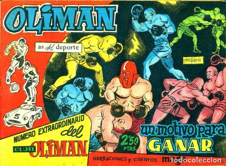 OLIMAN NÚMERO EXTRAORTDINARIO (MAGA, 1961) COLECCIÓN COMPLETA: 24 NÚMEROS. DE PÉREZ FAJARDO Y OTROS (Tebeos y Comics - Maga - Oliman)