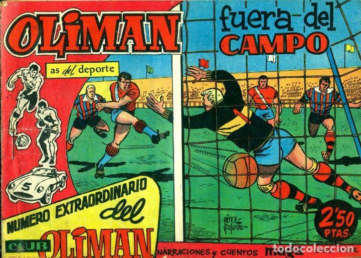 Tebeos: OLIMAN NÚMERO EXTRAORTDINARIO (MAGA, 1961) COLECCIÓN COMPLETA: 24 NÚMEROS. DE PÉREZ FAJARDO Y OTROS - Foto 2 - 192233342