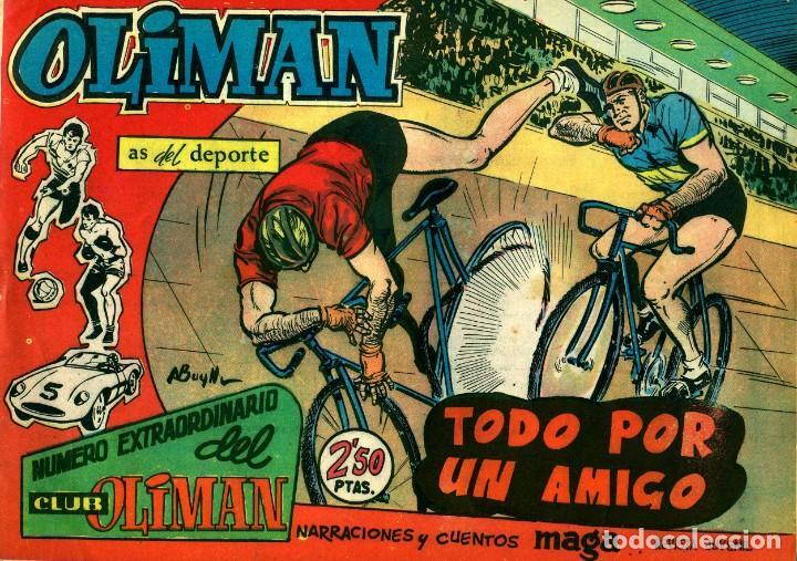 Tebeos: OLIMAN NÚMERO EXTRAORTDINARIO (MAGA, 1961) COLECCIÓN COMPLETA: 24 NÚMEROS. DE PÉREZ FAJARDO Y OTROS - Foto 8 - 192233342