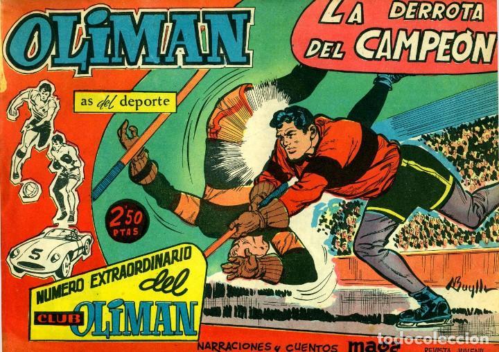 Tebeos: OLIMAN NÚMERO EXTRAORTDINARIO (MAGA, 1961) COLECCIÓN COMPLETA: 24 NÚMEROS. DE PÉREZ FAJARDO Y OTROS - Foto 9 - 192233342