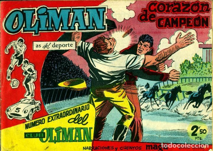 Tebeos: OLIMAN NÚMERO EXTRAORTDINARIO (MAGA, 1961) COLECCIÓN COMPLETA: 24 NÚMEROS. DE PÉREZ FAJARDO Y OTROS - Foto 10 - 192233342