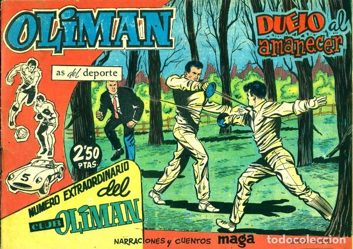 Tebeos: OLIMAN NÚMERO EXTRAORTDINARIO (MAGA, 1961) COLECCIÓN COMPLETA: 24 NÚMEROS. DE PÉREZ FAJARDO Y OTROS - Foto 14 - 192233342