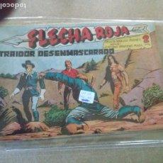 Tebeos: FLECHA ROJA , MAGA -LOTE DE 51 Nº - VER FOTOS - TAMBIEN SUELTOS. Lote 192330556