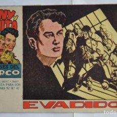 Tebeos: TONY Y ANITA, LOS ASES DEL CIRCO, Nº 25. ORIGINAL DE MAGA. LITERACOMIC.. Lote 192458777