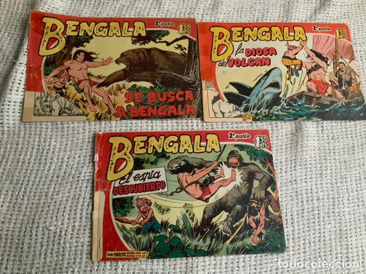 Tebeos: BENGALA 2ª PARTE, lote de 33 ejemplares ( originales ) - edita : MAGA AÑOS 60 - Foto 3 - 192595941