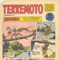 Tebeos: TERREMOTO Nº23. BENGALA (QUESADA Y ORTIZ). EDITORIAL MAGA, 1964 . Lote 192715963
