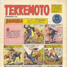 Tebeos: TERREMOTO Nº27 (QUESADA Y ORTIZ). BENGALA. EDITORIAL MAGA, 1964. Lote 192716111