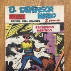 BDs: EL DEFENSOR NEGRO - NUMERO 12 - MAGA, ORIGINAL - GCH1. Lote 192964328