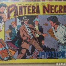 Tebeos: PANTERA NEGRA Nº 28 ORIGINAL. Lote 193235825