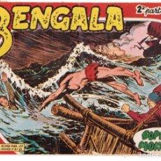Tebeos: BENGALA 2 PARTE EDITORIAL MAGA ORIGINAL Nº II - 4. Lote 193384041