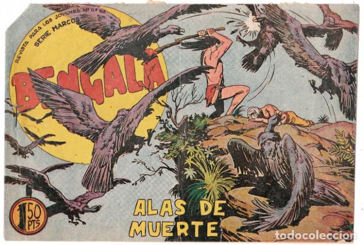 ORIGINAL - BENGALA - NÚMERO 35: ALAS DE MUERTE (Tebeos y Comics - Maga - Bengala)