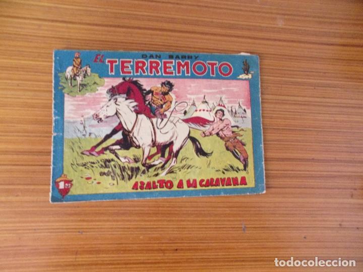 DAN BARRY EL TERREMOTO Nº 60 EDITA MAGA (Tebeos y Comics - Maga - Dan Barry)
