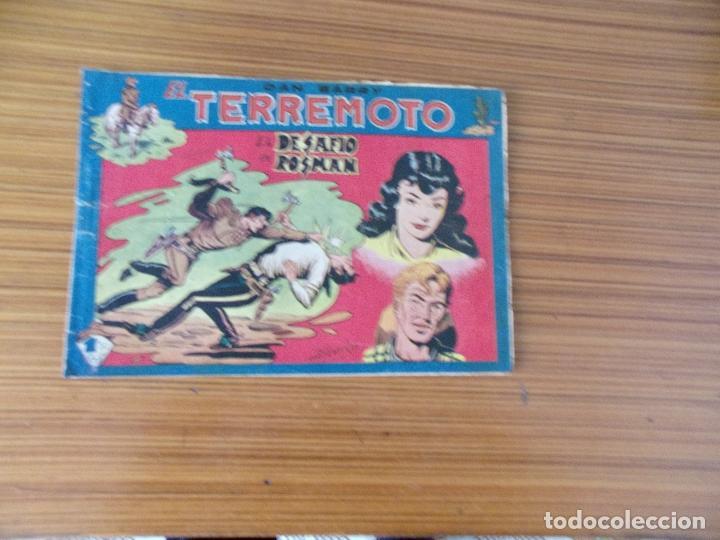 DAN BARRY EL TERREMOTO Nº 75 EDITA MAGA (Tebeos y Comics - Maga - Dan Barry)