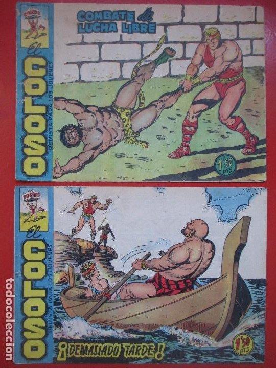 Tebeos: LOTE 22 TEBEOS EL COLOSO Y EL PRINCIPE DE RODAS ED. MAGA VER NUMEROS - Foto 5 - 193823296