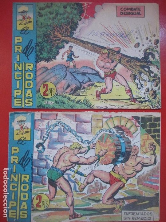 Tebeos: LOTE 22 TEBEOS EL COLOSO Y EL PRINCIPE DE RODAS ED. MAGA VER NUMEROS - Foto 11 - 193823296