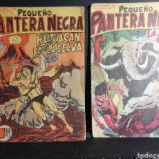 Tebeos: PEQUEÑO PANTERA NEGRA DOS EJEMPLARES NUMEROS 93 Y 121 ED. MAGA. Lote 193831647