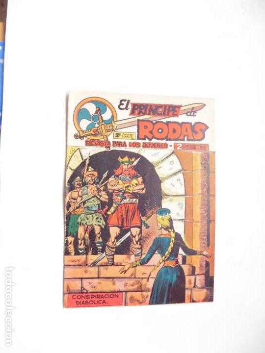 PRINCIPE DE RODAS Nº18 ORIGINAL MAGA (Tebeos y Comics - Maga - Otros)